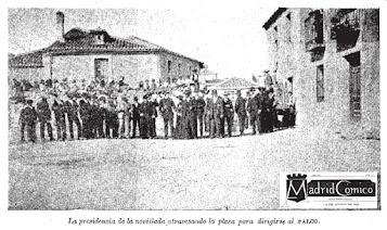 TOROS EN LA CORREDERA AGOSTO 1896