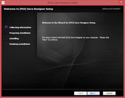 Cara Install PS3 Save Resigner