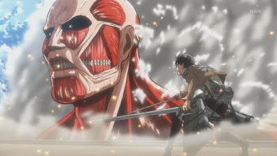 Sinopsis Anime Shingeki no Kyojin (Attack On Titan)