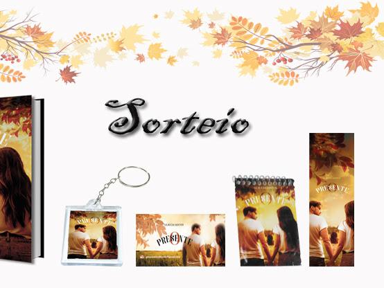 """Sorteio: """"O Presente"""" da autora Glaucia Santos"""