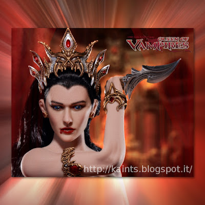 In pre-ordine l'action figure di ARKHALLA Queen of Vampires della ARH Studios