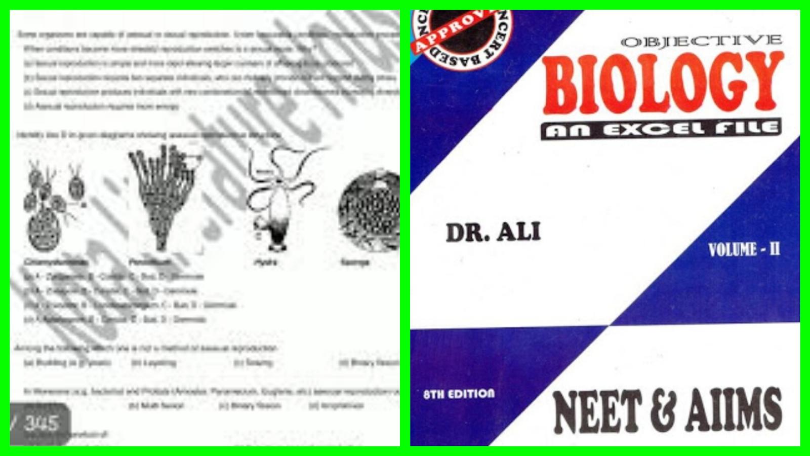 Objective Biology Pdf Dr Ali