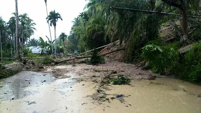 Longsor di Sungai Limau Putuskan Akses Hubung 3 Kecamatan