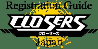 Closers Japan Registration Guide