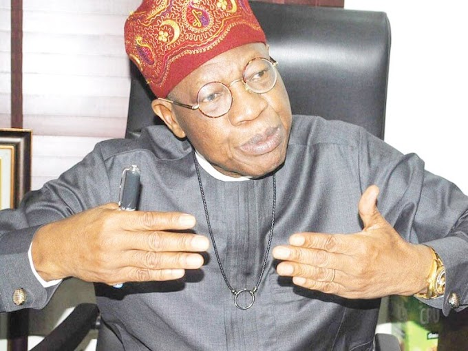 "Nigerian Yahoo Boys Should Lend Us money, Nigeria Is Collapsing"" — Lai Mohammed Pleads"