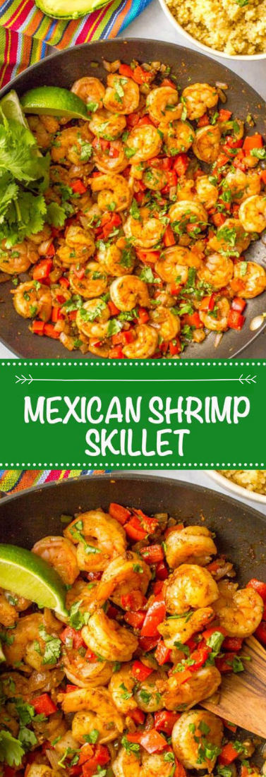 Snappy + EASY MEXICAN SHRIMP SKILLET #mexicanfood