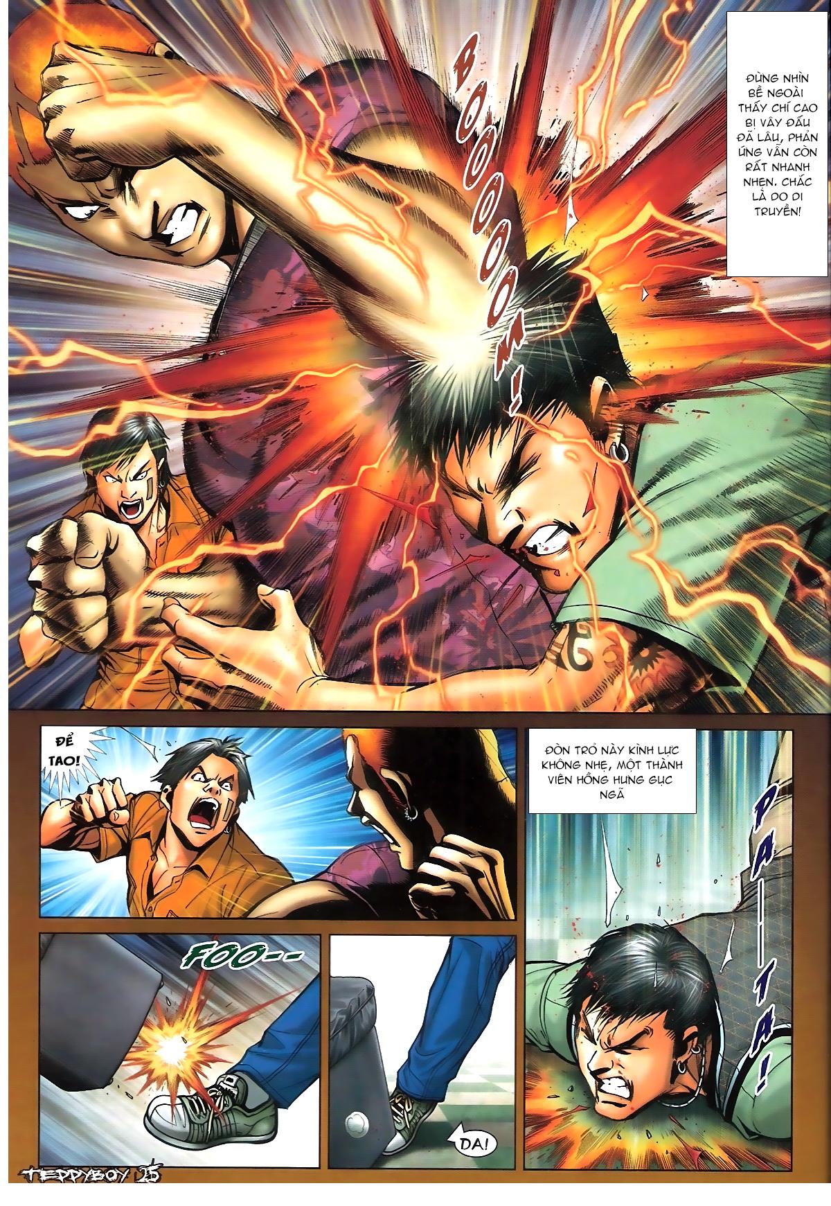 Người Trong Giang Hồ - Chapter 1347: Lý Chí Cao vs Sinh Tư - Pic 22