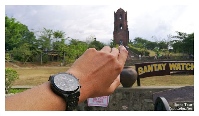 Timex Expedition Pose at Bantay Bell Tower