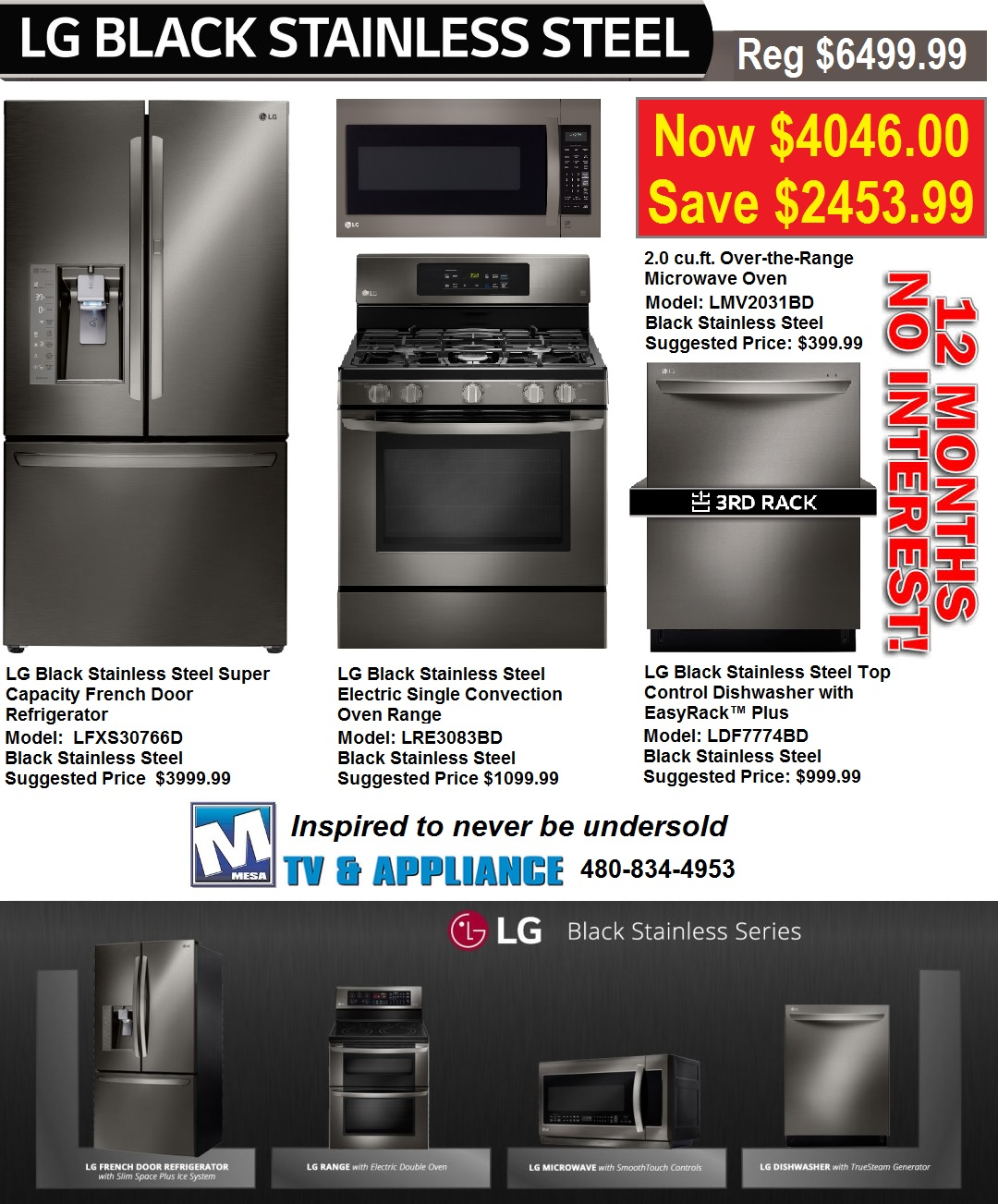 Lg Kitchen Appliances: Mesa TV & Discount Appliances