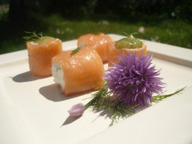 Miam Yam : ma version des rouleaux de saumon fumé au