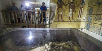 3000 Tahun Tak dibuka, 2 Kamar Fir'aun Ternyata Isinya
