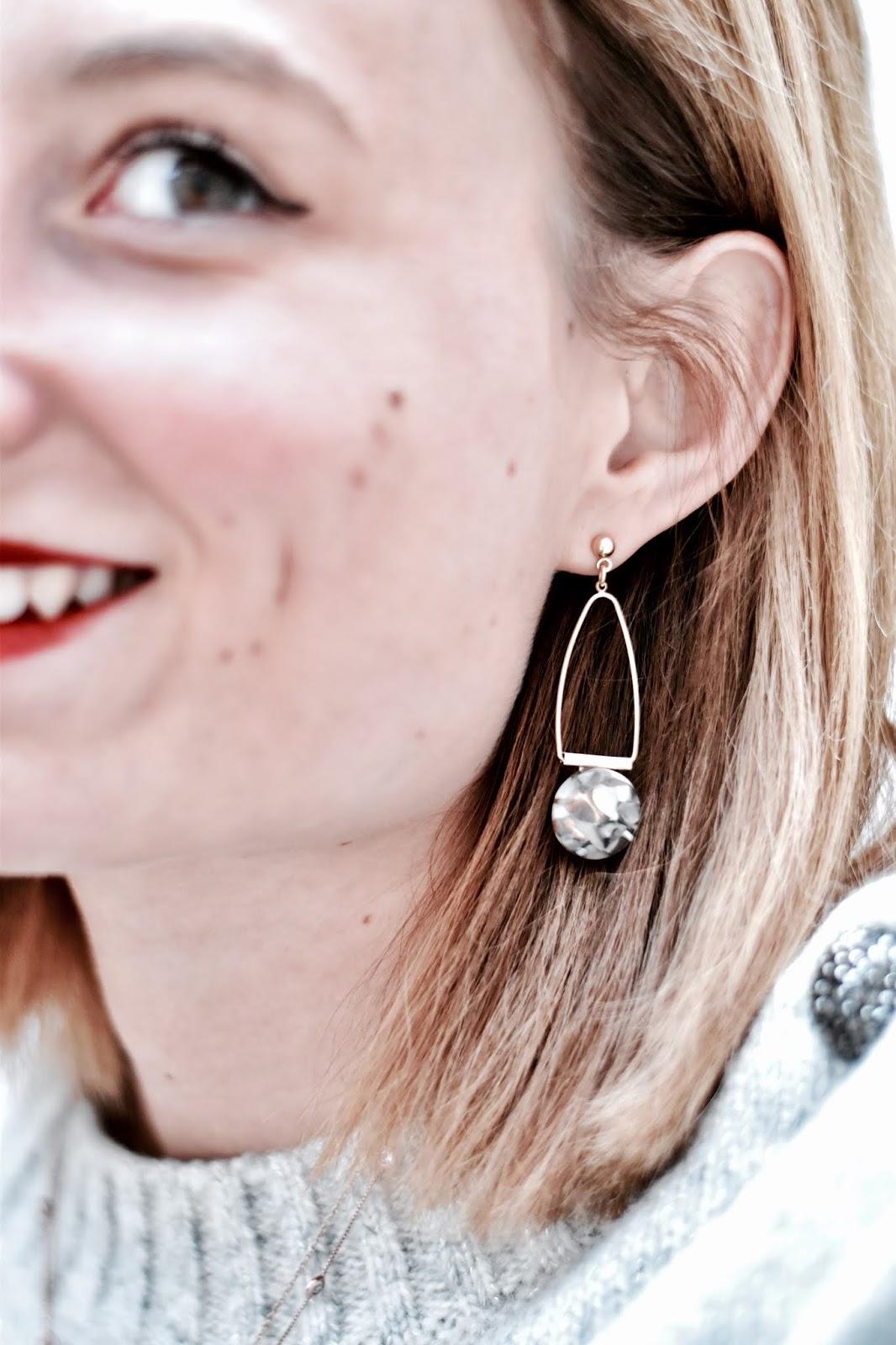 boucles d'oreilles pimkie