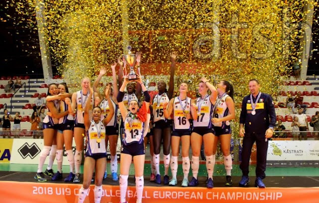 Italy Women's Volleyball (U-19) tram