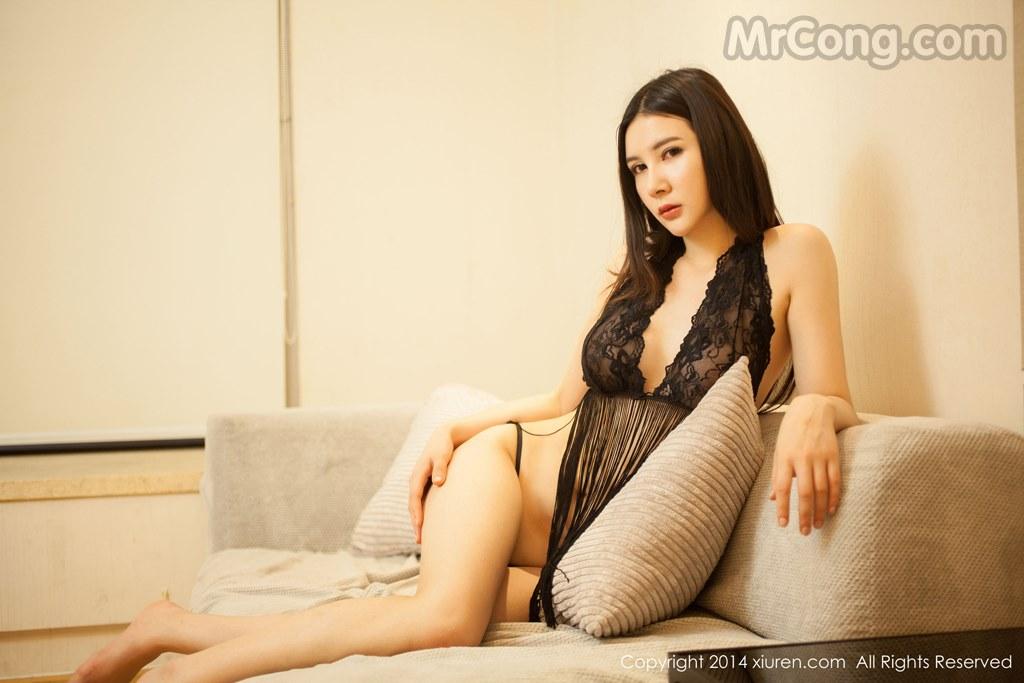 Gu Xinyi 顾欣怡 Uncensored See Through : XiuRen Model No.127 — GravureGirlz