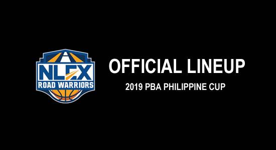 LIST: NLEX Road Warriors Official Lineup 2019 PBA Philippine Cup