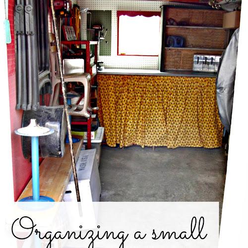 Small Organized Workshop - Weekend Yard Work Series