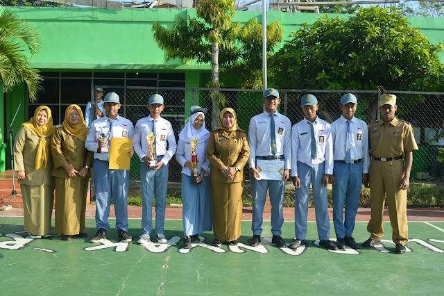 Penampil HARAPAN 1 PAWAI SENI BUDAYA Daerah Lampung
