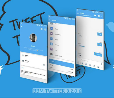 BBM Mod Twitter Apk v3.2.0.6