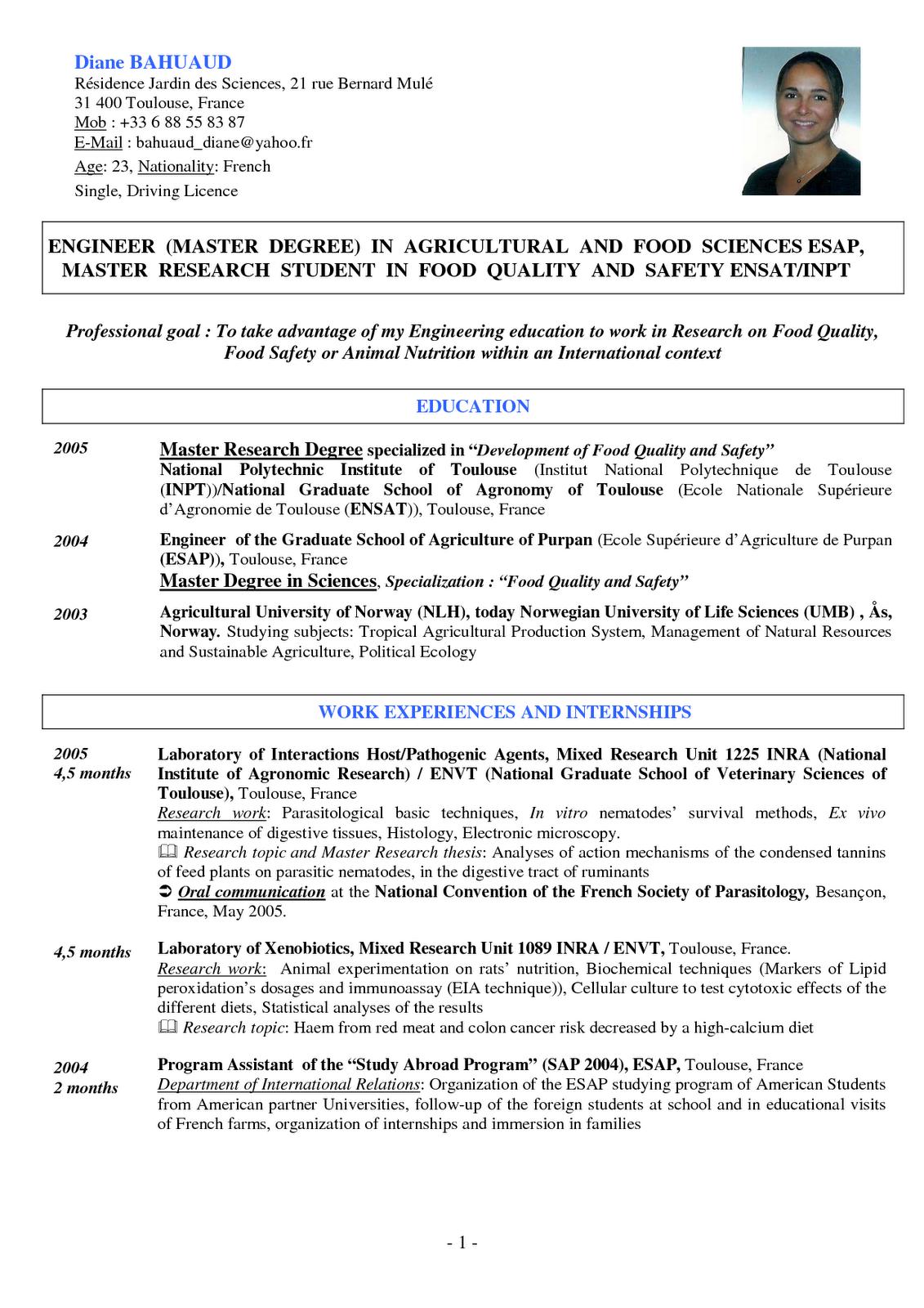 Cv Bahasa Inggris Document Olharecia