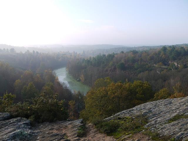 L'oppidum de l'étang du val, dans les landes de Cojoux à Saint-Just