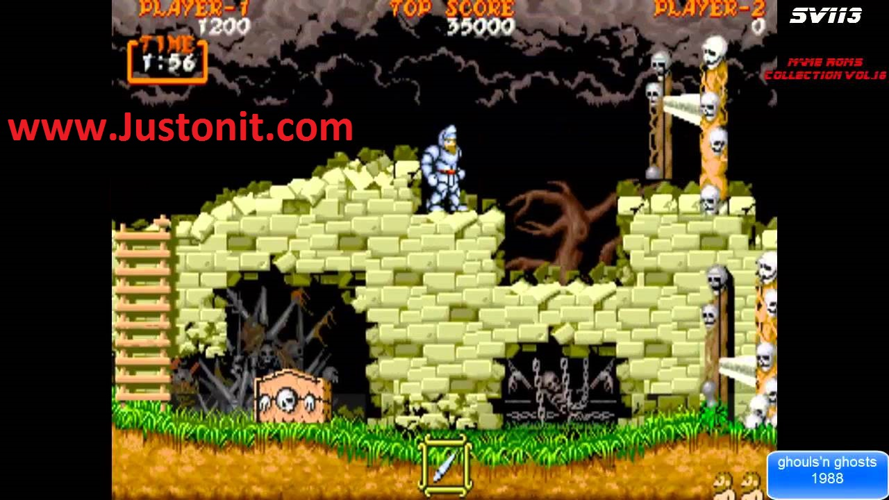 top rom mame