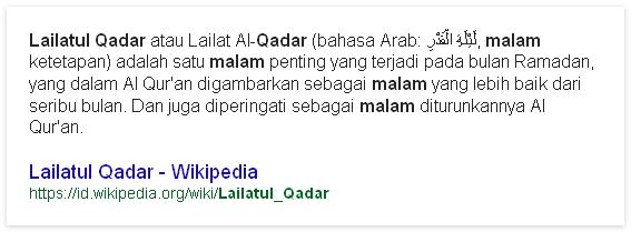 Fakta Ilmiah Malam Lailatul Qadar Pernah Ditemukan