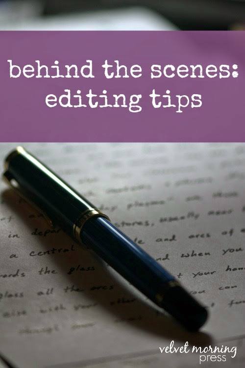 Behind the Scenes: Book Editing
