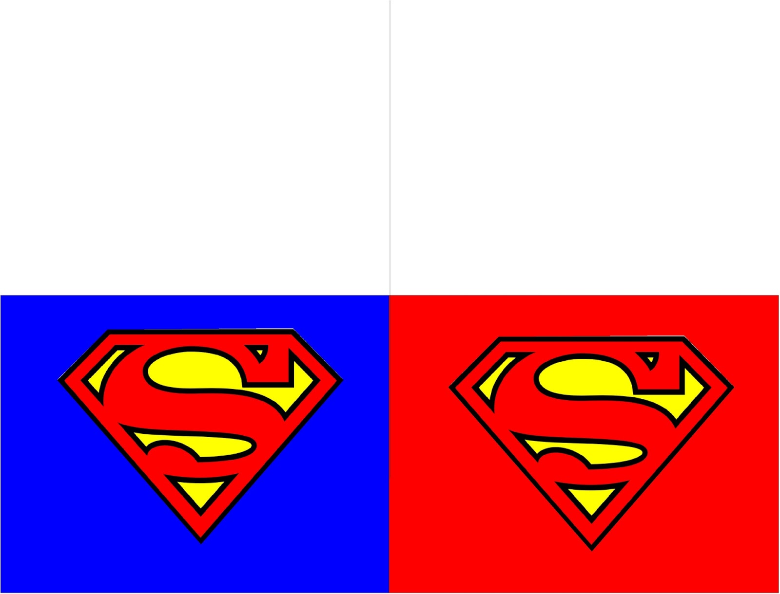 Get Your Kids To Stop And Write A Thank You Note With These Fun Printable Superman