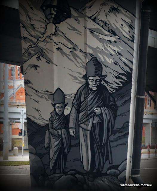 Warszawa Warsaw graffiti Wola Prymasa Tysiąclecia
