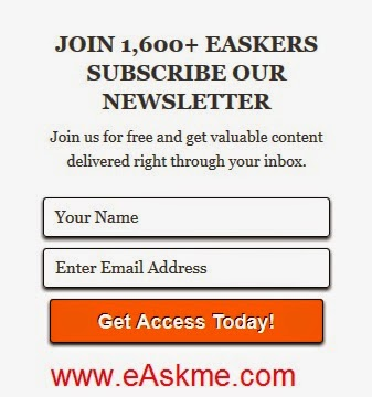 How to Subscribe eAskme : eAskme