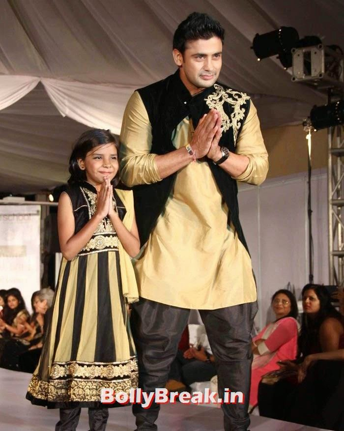 Sangram Sing, Ex Bigg Boss Contestants at Welingkar's Tribute Fashion Show 2014