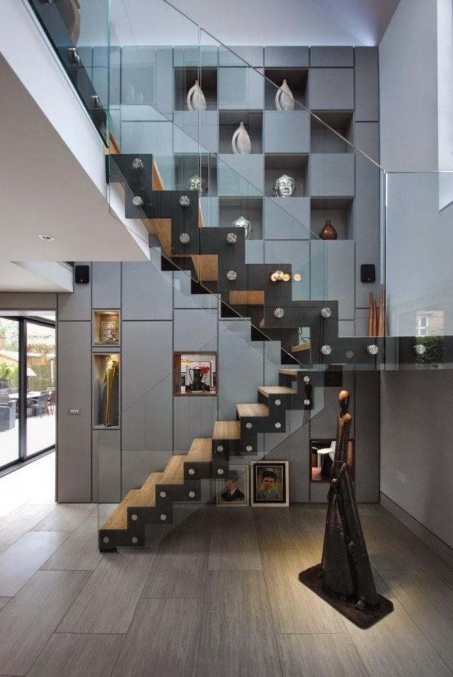 45 Stunning modern stairs design ideas for high class interior