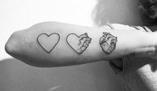 ลายสักหัวใจ
