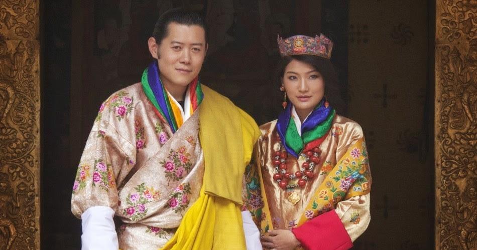 Bhutan king and queen happiness felicità