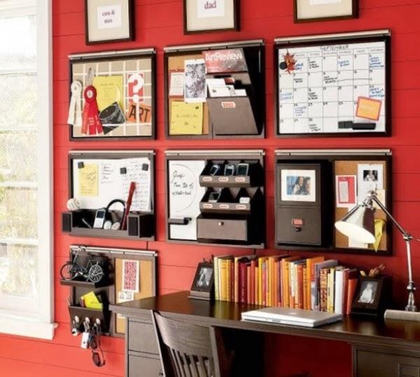 Beautiful Home Office Ideas: Beautiful Home Office Organization
