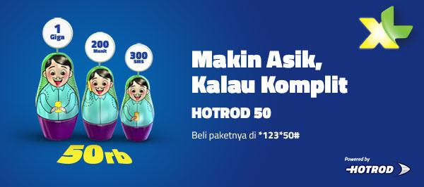 Paket XL HotRod 50