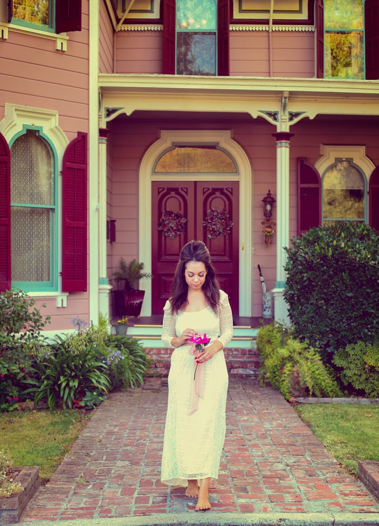 the gables inn, sonoma county, lana del rey costume, bay area bloggers, diy costume