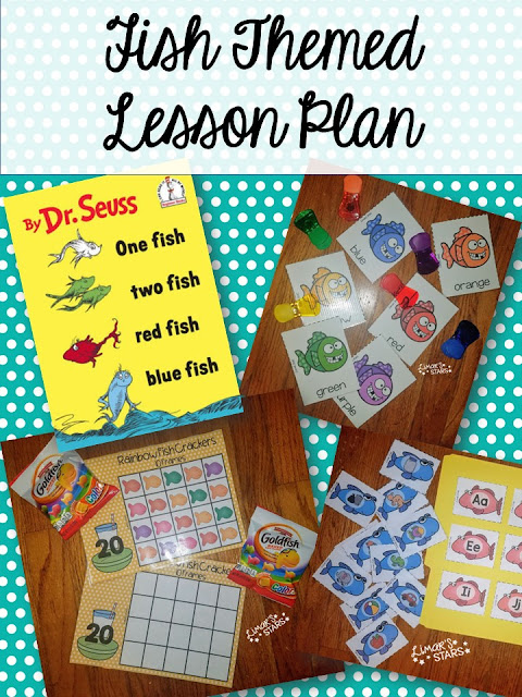 Fish Themed Lesson Plan Mrs Limar S Stars