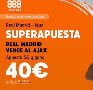 888sport superapuesta champions Real Madrid vs Ajax 5 marzo 2019