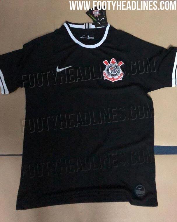 54d8abe4a6c Nike Corinthians 19-20 Home Kit To Pay Homage To Ronaldo + Away Kit ...