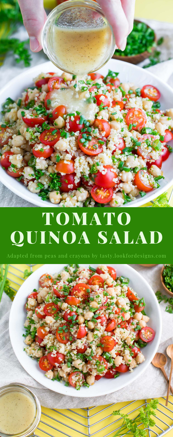 Tomato Quinoa Salad Recipe