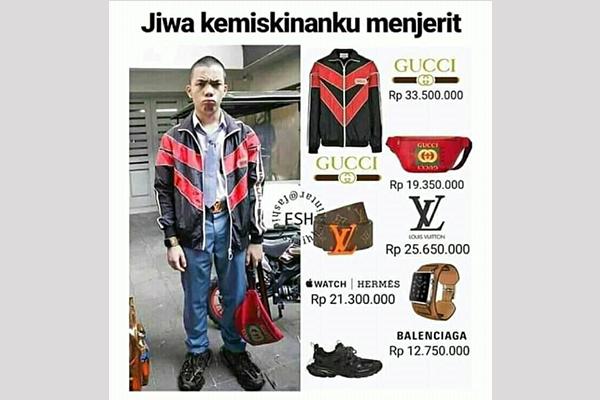 berapa harga outfit lo