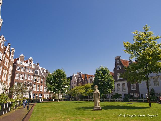 Begijnhof, Amsterdam por El Guisante Verde Project