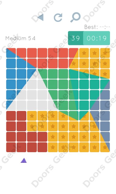 Cheats, Walkthrough for Blocks and Shapes Medium Level 54