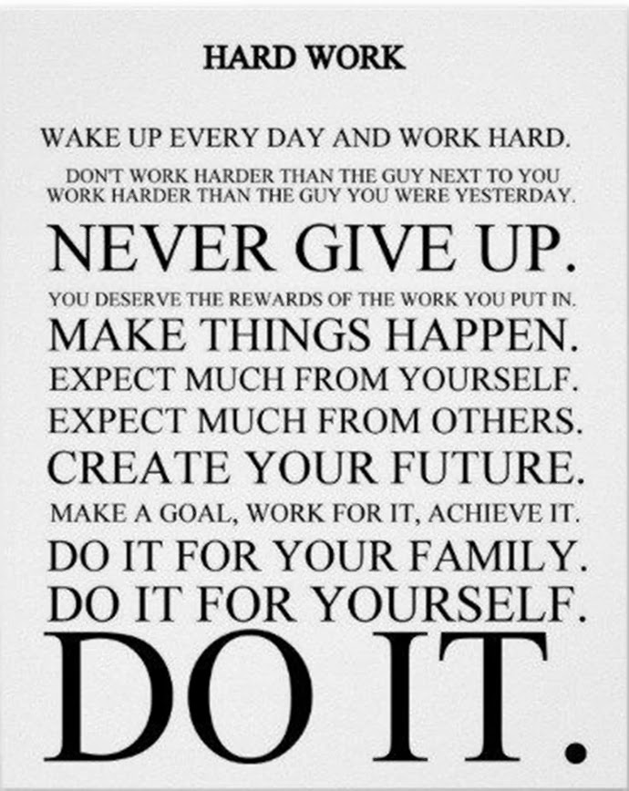 Inspirational Quotes And Sayings Work Hard. QuotesGram