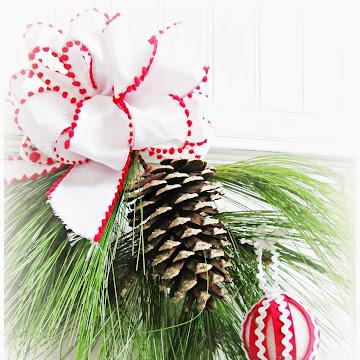 Little Women Christmas Vignette