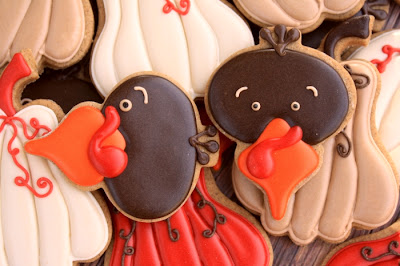 Decorated Turkey Cookie Tutorial