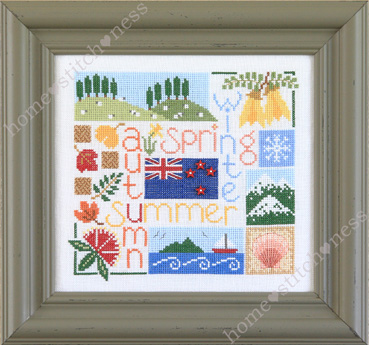 Four Seasons in New Zealand by homestitchness