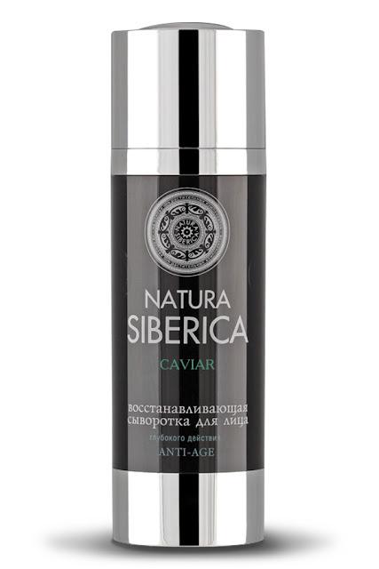 Huyết thanh phục hồi chống lão hóa chuyên sâu Natura Siberica dành cho mặt chiết xuất từ trứng cá tầm muối