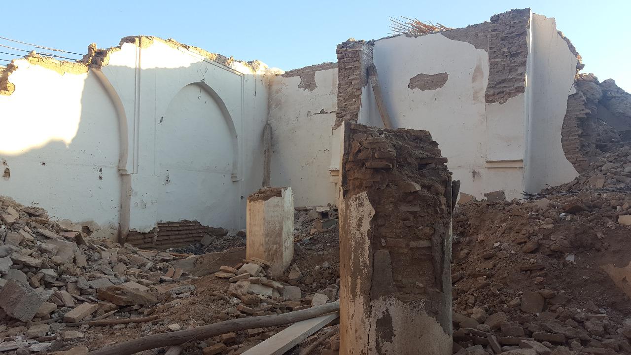 إنفراد/إتهامات لوزارة الأوقاف بهدم مسجد عتيق بتارودانت بُنيٓ قبل 1000سنة دون ترميمه